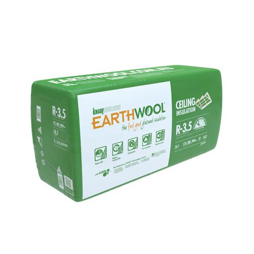 Earthwool R3.5 175mm x 580mm x 1160mm 14.13m² Insulation Ceiling Batt - Pack of 21