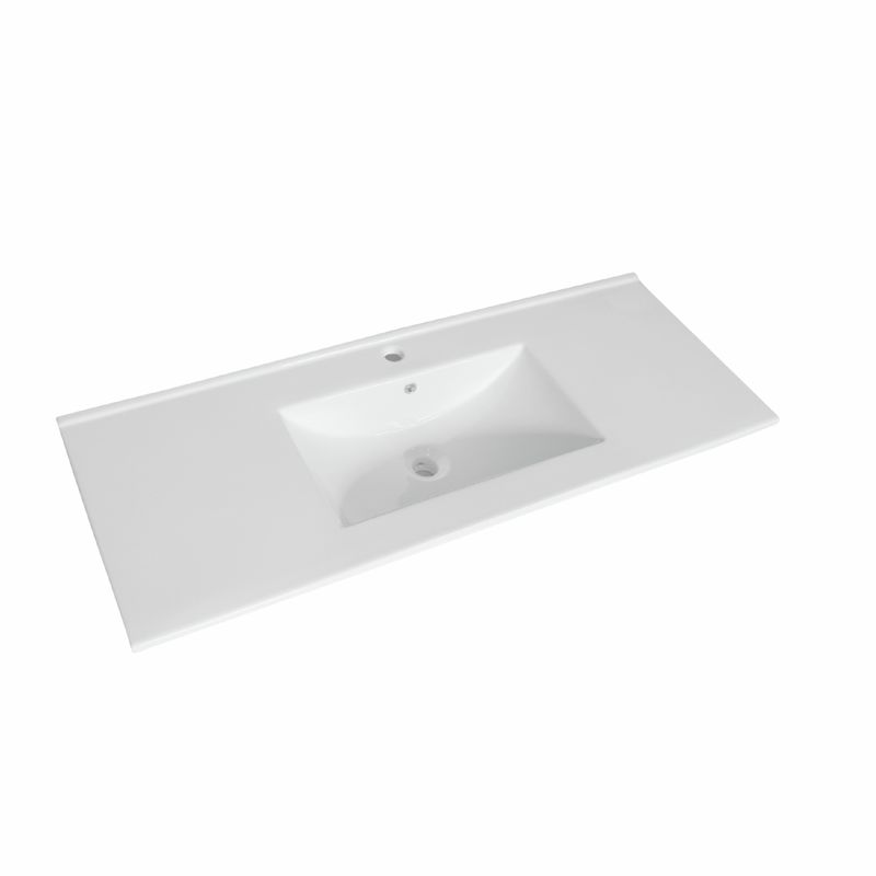 Cadenza 1200mm Ceramic Basin Only 1TH