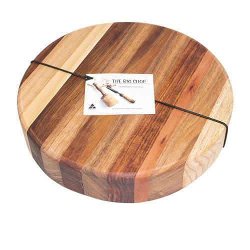 Big Chop Derwent River Round Cutting Board 33x4cm