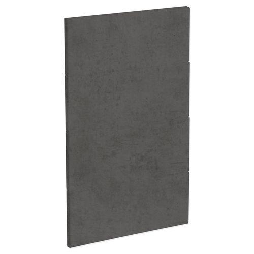 Kaboodle 450mm Dark Truffle Modern 4 Drawer Panels