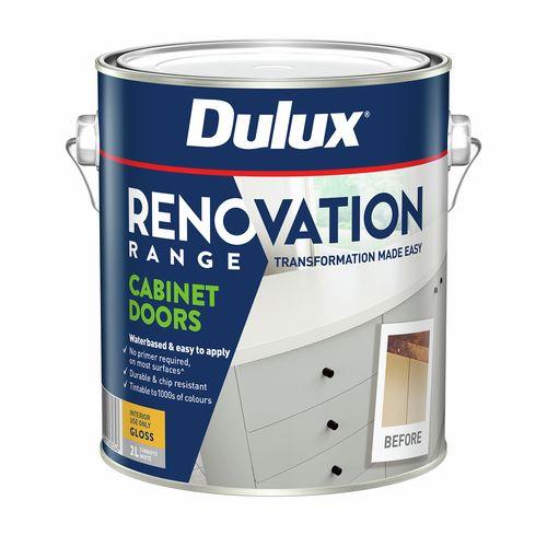 Dulux 2L Renovation Range Cabinet Doors Gloss White
