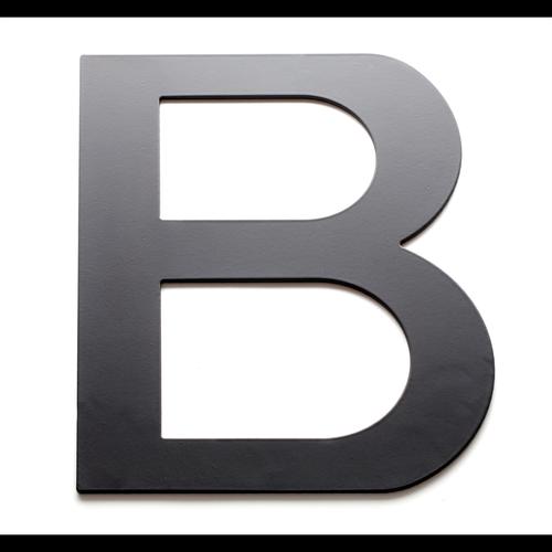 Sandleford 200mm Black B Lorenzo Letter