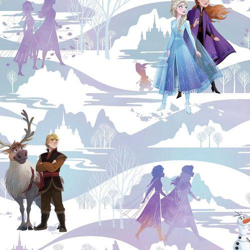 Disney 52cm x 10m Frozen Scene Wallpaper