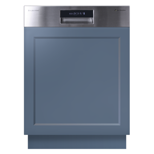 Kleenmaid 60cm Stainless Steel Semi Integrated Dishwasher
