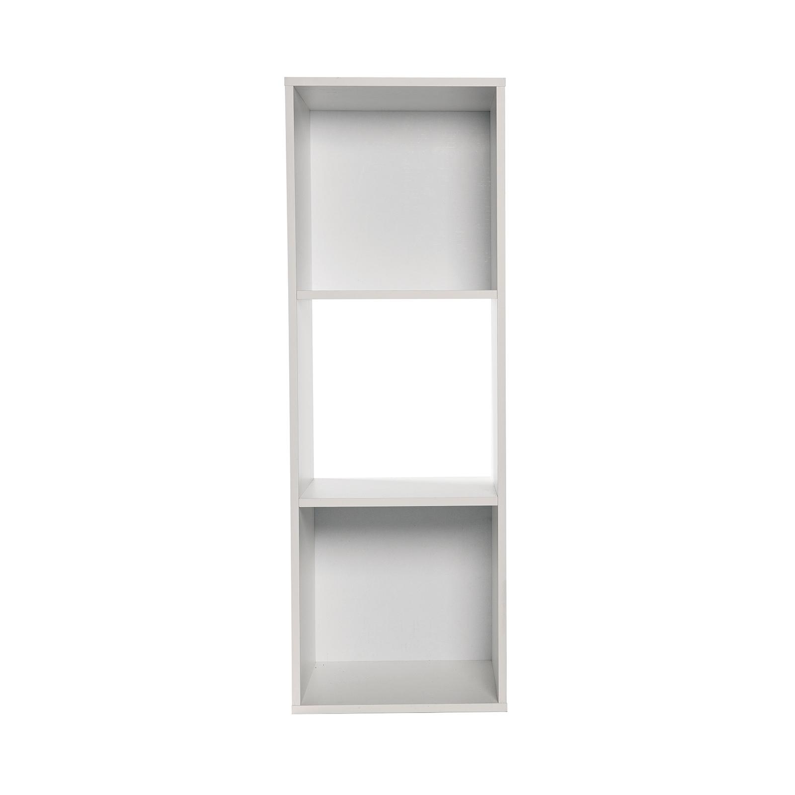 Flexi Storage Clever Cube 1 x 3 White Compact Storage Unit