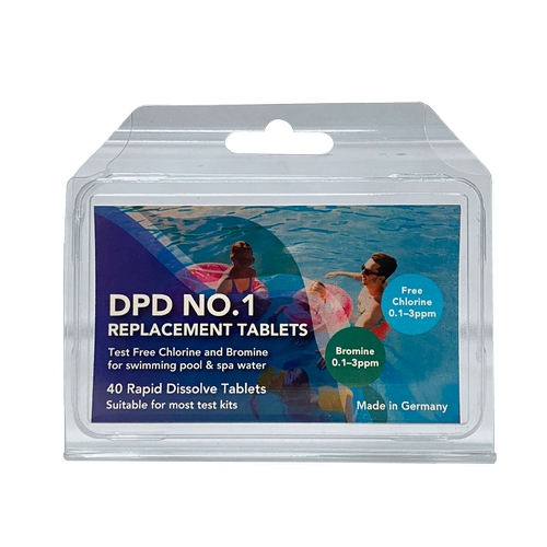 HY-CLOR DPD No.1 Rapid Dissolve Tablets - 40 Pack
