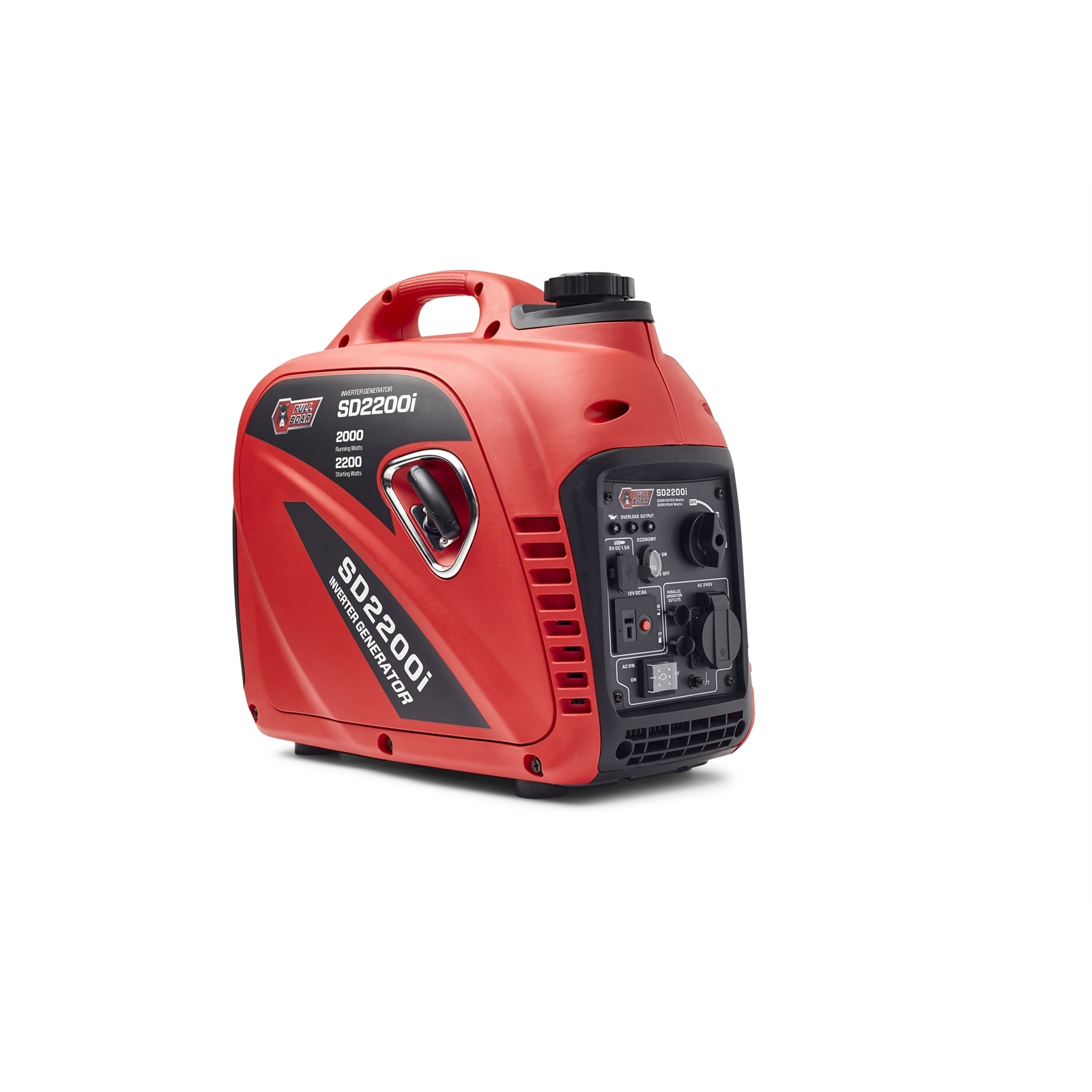 Full Boar 2200W Inverter Petrol Generator
