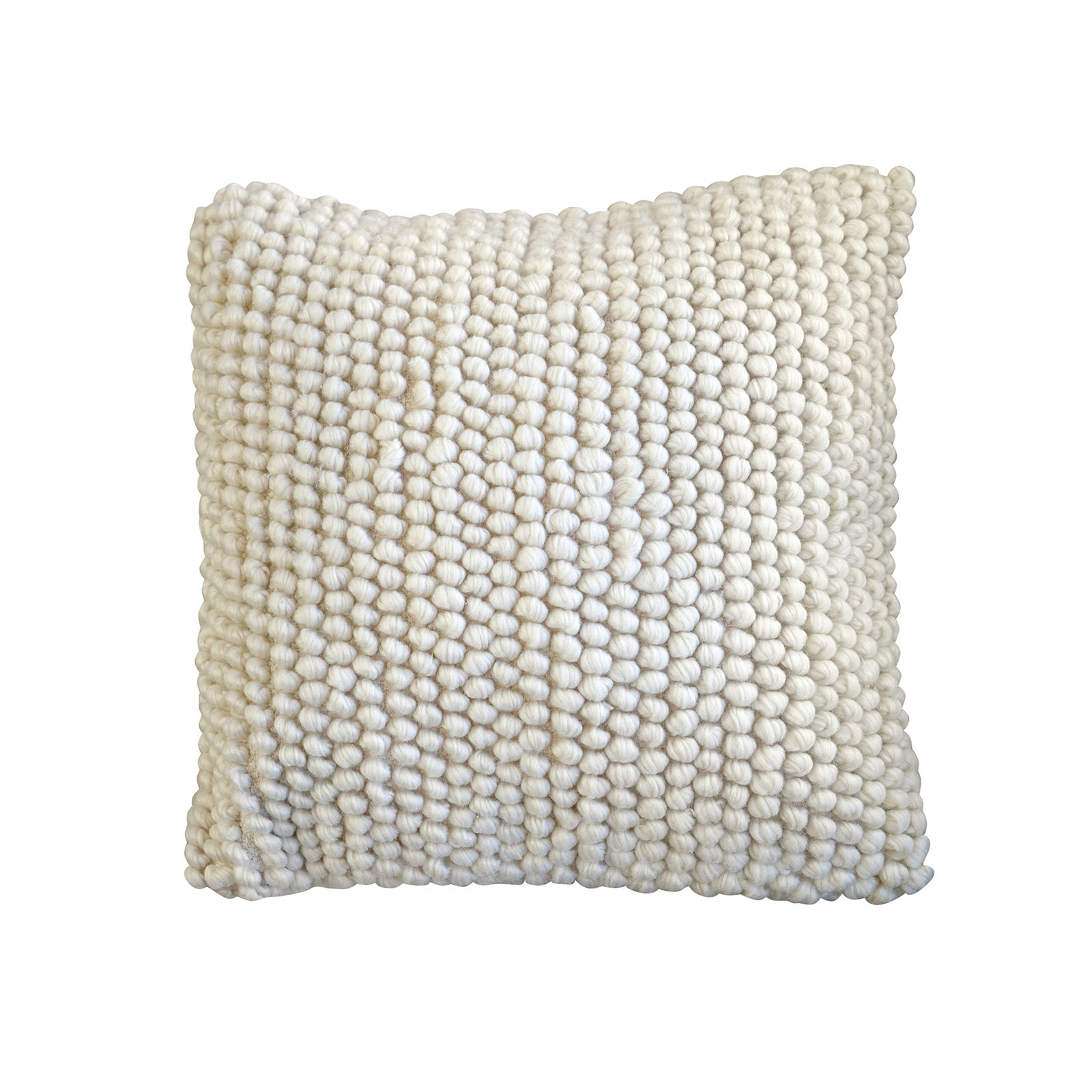 Smart Home Products 45 x 45cm Cream France Loop Cushion