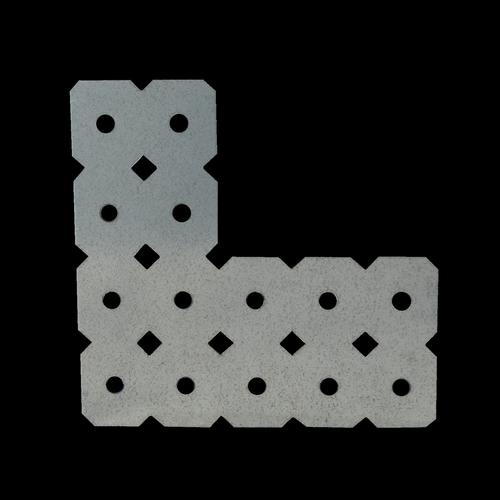 Carinya 100 x 40 x 100 x 50 x 1mm L Mending Plate Make-A-Bracket
