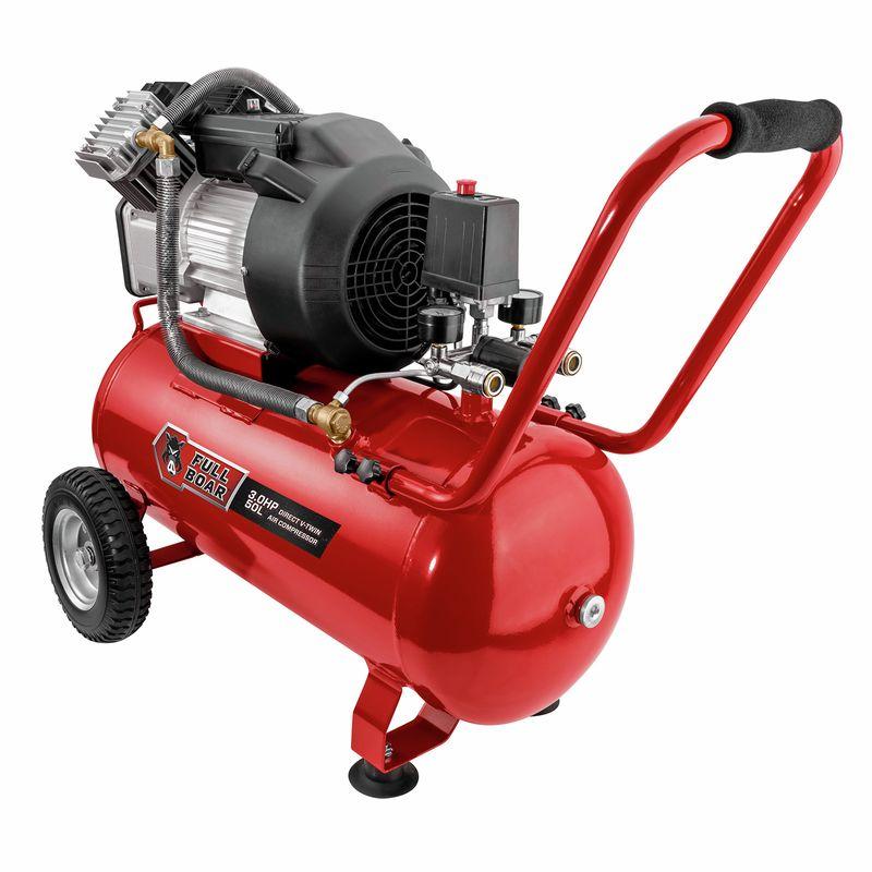 3HP 50L Oil Free V-Twin Air Compressor