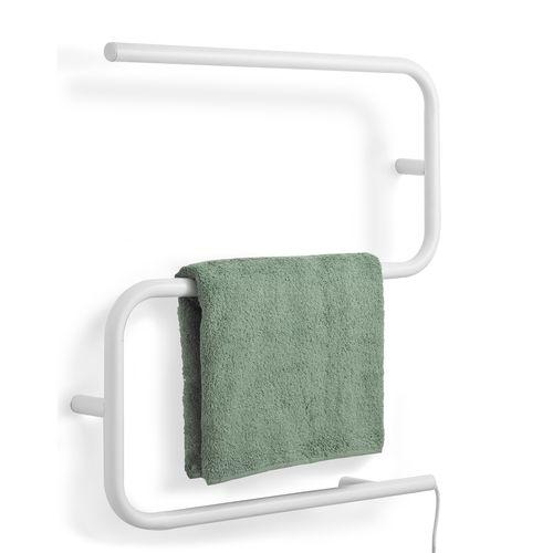 Arlec 3 Bar 45W White Small Heated Towel Rail