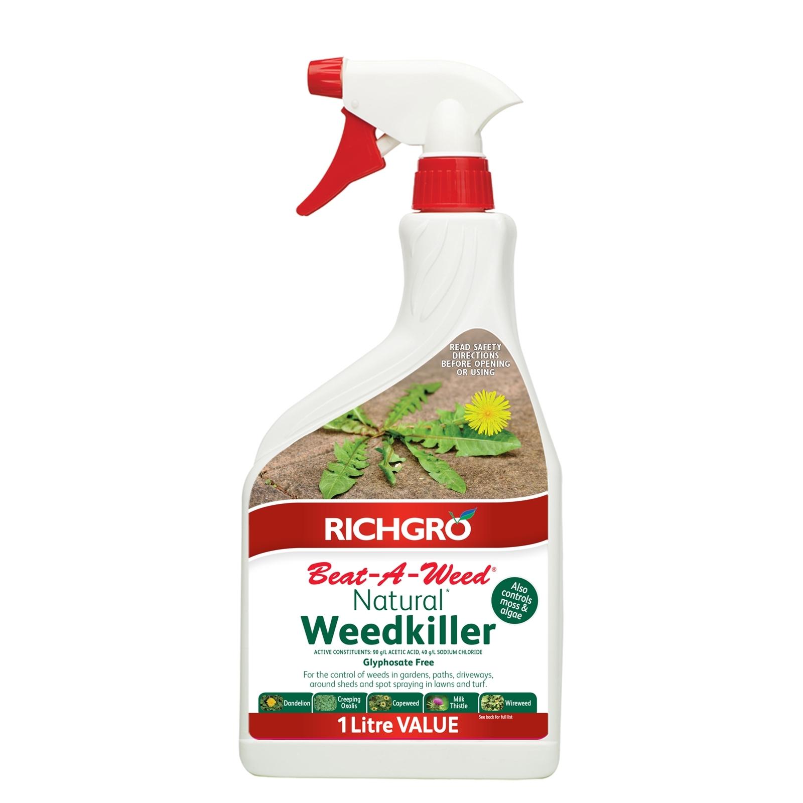 Richgro 1L Beat-A-Weed Natural Weedkiller
