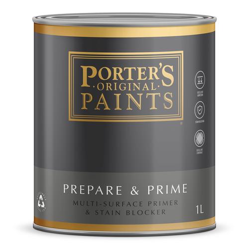 Porter's Paints 1L Prepare And Prime