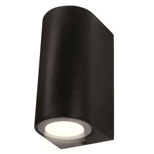 Brilliant 240V Black Corbett Up / Down Wall Light