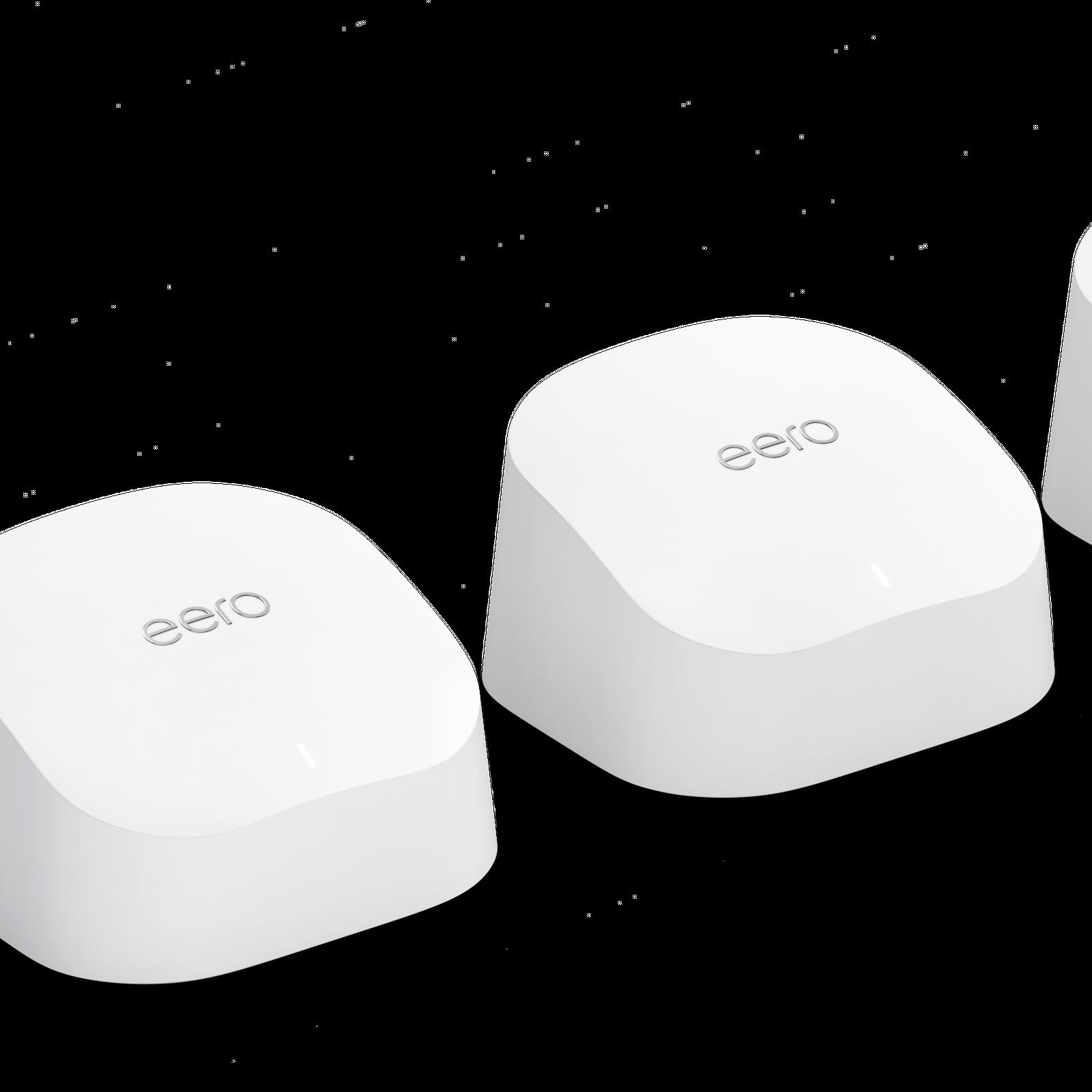 eero 6 TrueMesh Wi-Fi 6 Dual-Band System (3 Pack)