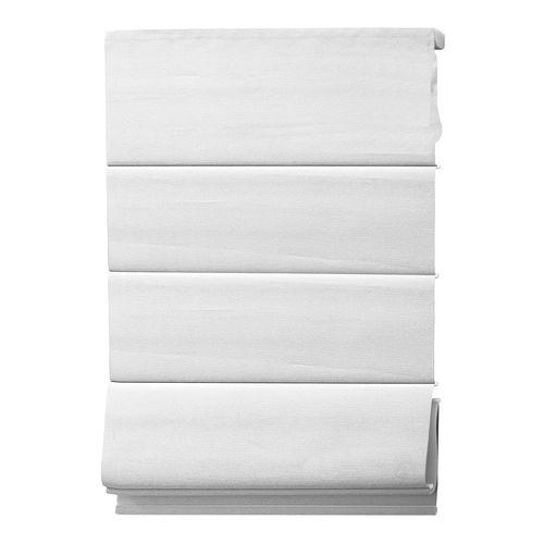 Windoware Charm Blockout Roman Blind - 600mm x 2100mm White