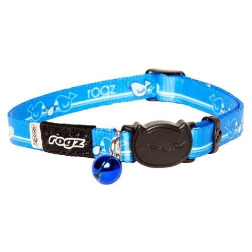 Rogz Kiddycat Safeloc Collar Royal Birds 11mm