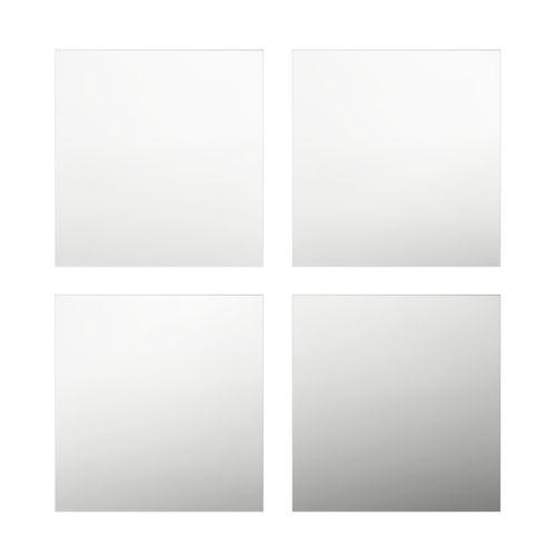 Cooper & Co. Set of 4 Square Decorative Mirror Tiles 30x30cm
