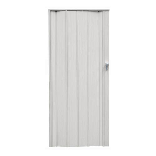 Pillar Products 85 x 203cm White Oak San Marino PVC Concertina Door