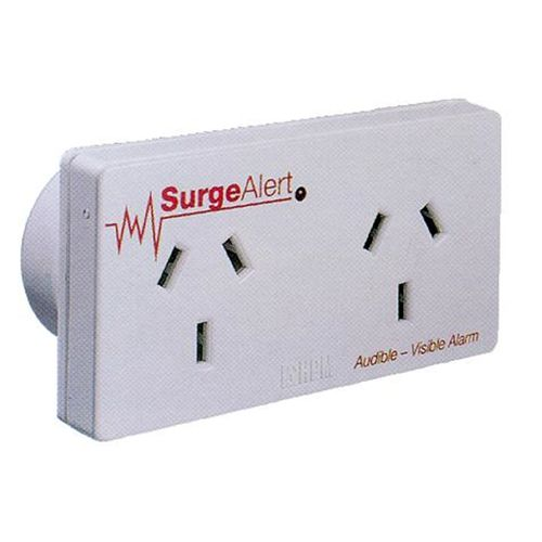 HPM Double Outlet Surge Protector