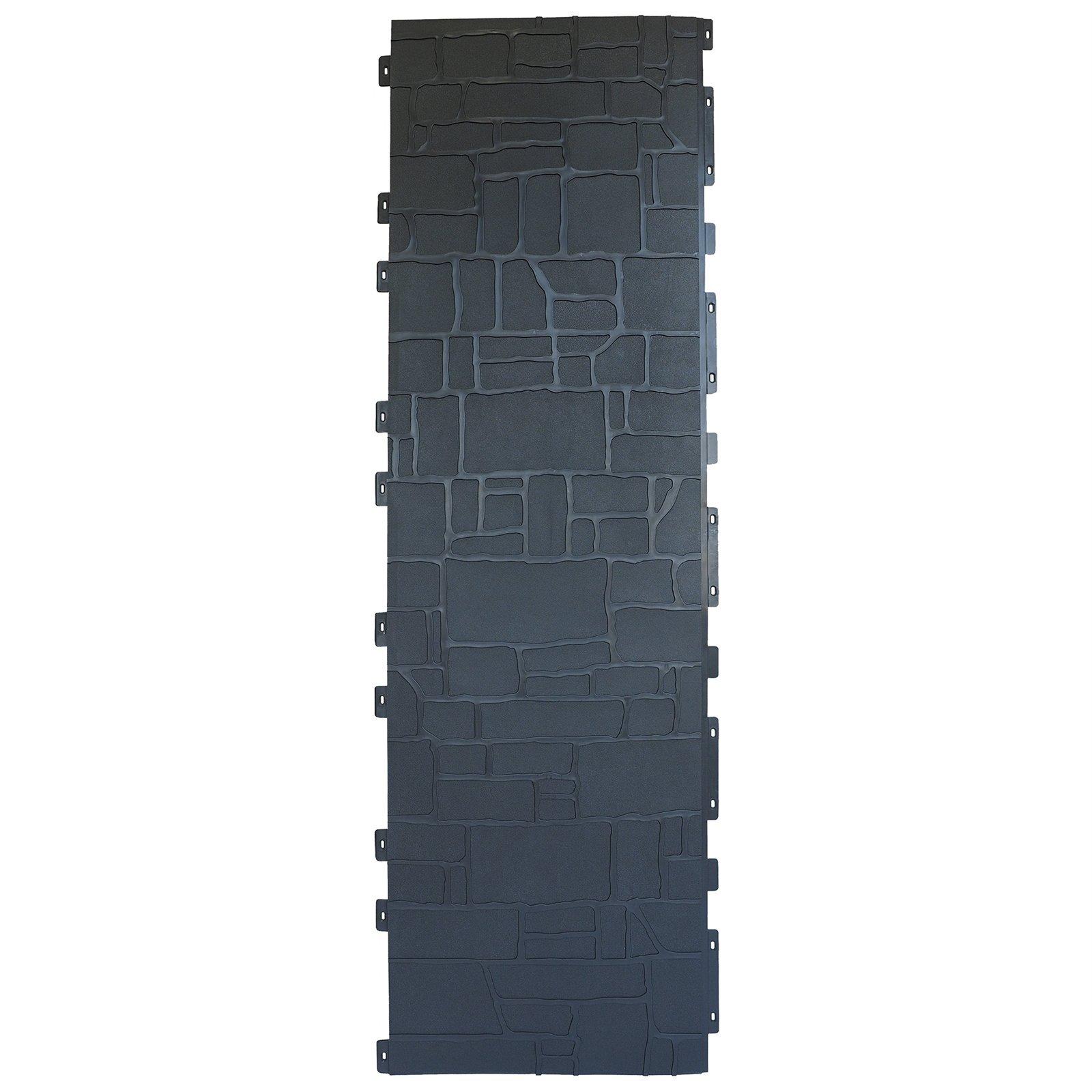 Matrix 1820 x 535mm Slate Grey Drystone Fence Panel