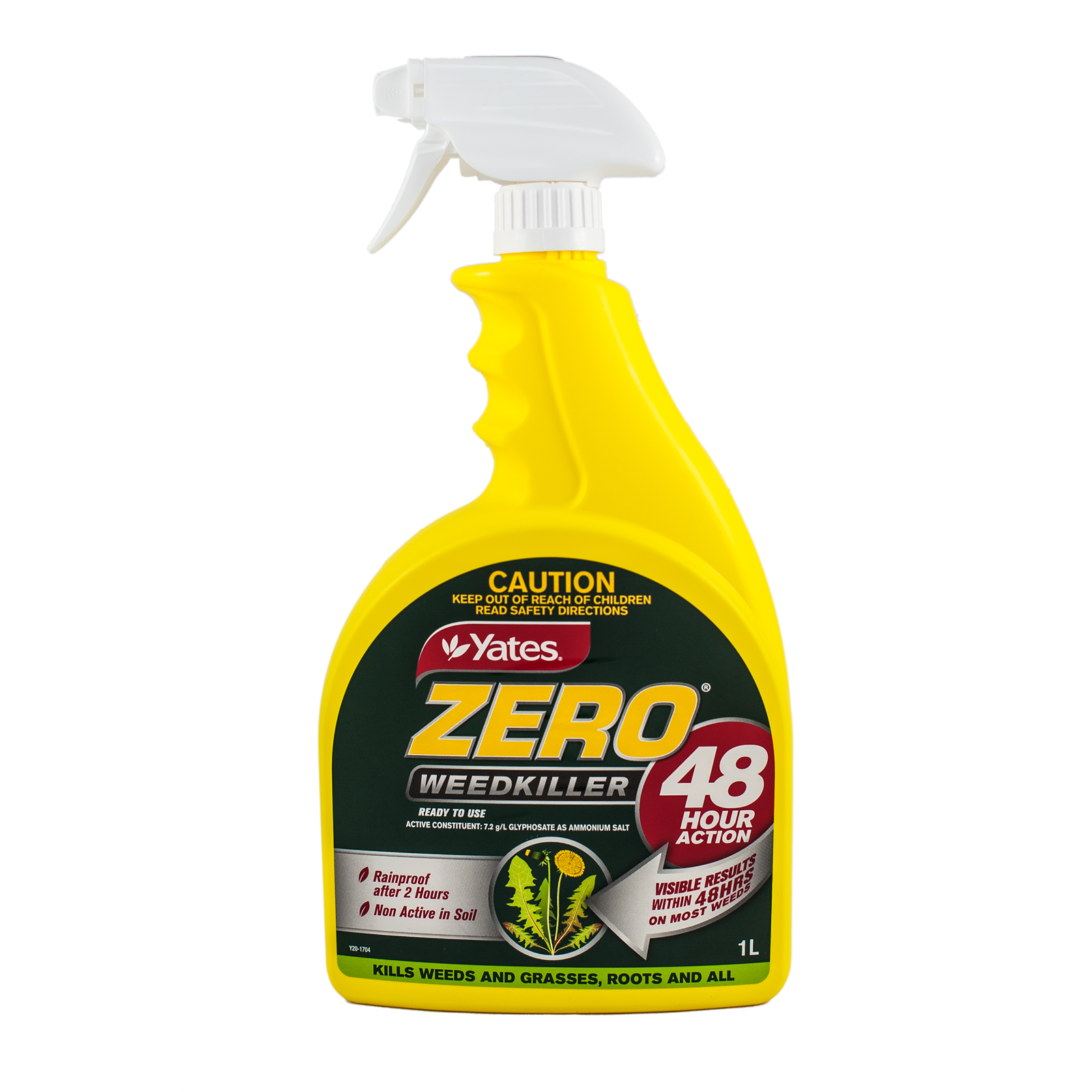 Yates 1L Ready To Use Zero 48 Hour Action Weed Killer
