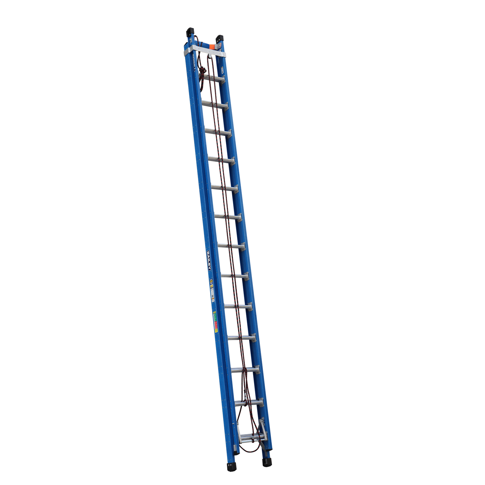 Bailey 4.4-7.7m 170kg Industrial Rated Pro 14 Rung Fibreglass Extension Ladder