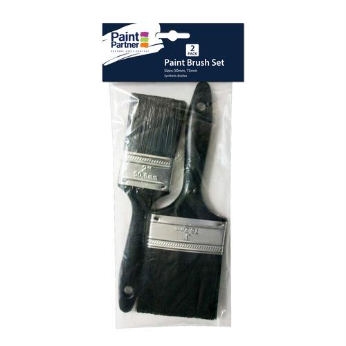 Paint Partner 50mm / 75mm 2 Piece Paint Brush Set