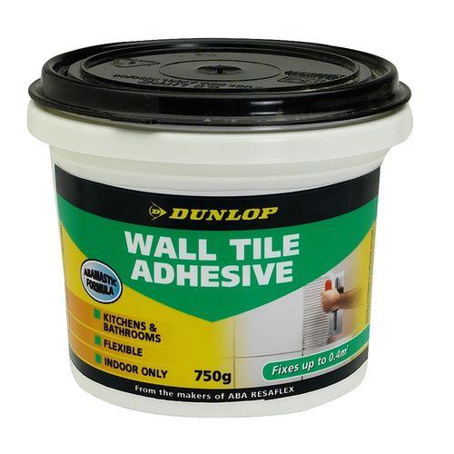 Dunlop 750g Wall Tile Adhesive