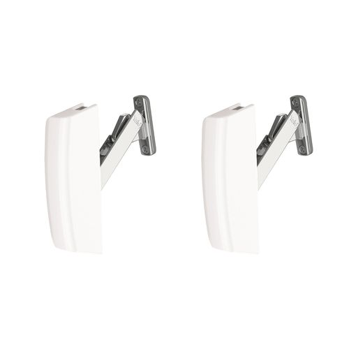 Yale Arctic White Guardian Securistay For Aluminium Windows - 2 Pack