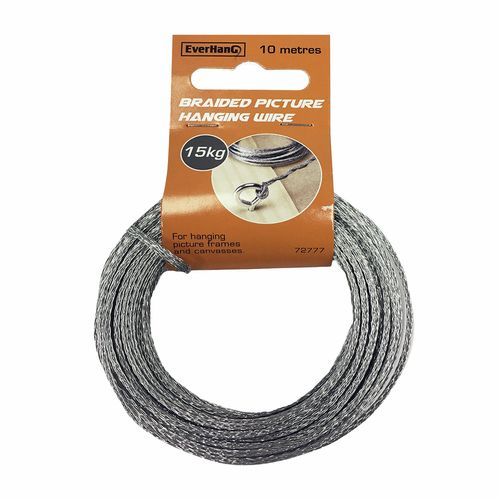 Everhang 10m 15kg Load Braided Picture Hanging Wire