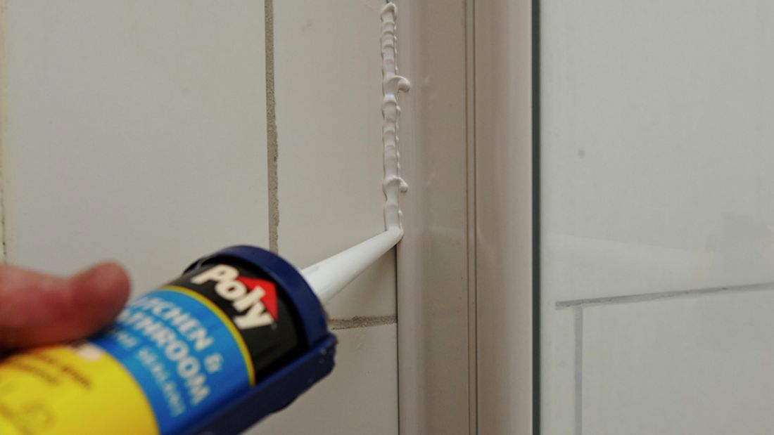 DIY Step Image - How to fix a leaking shower . Blob storage upload.