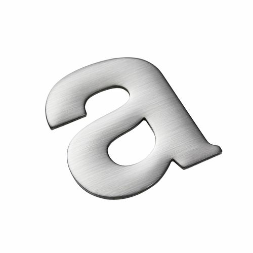 Sandleford 50mm Self Adhesive Stainless Steel Letter A