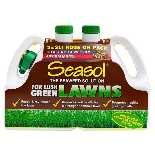 Seasol 2 x 2L Ready To Use Lawn Fertiliser - Twin Pack