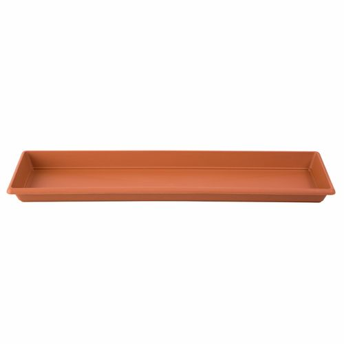 Northcote Pottery Terracotta Villa Rectangle Plastic Saucer - 560mm