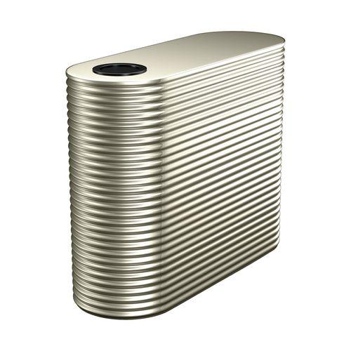Kingspan 3500L Slim Steel Water Tank - Evening Haze 1150mm x 1560mm x 2400mm