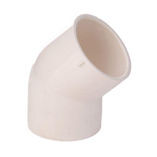 Marley 32mm White Pressure Plain 45° Elbow