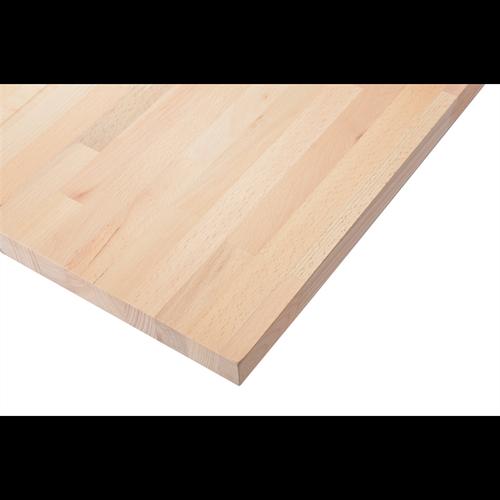 Selex  2200x600x26mm Beech Laminated Worktop Panel