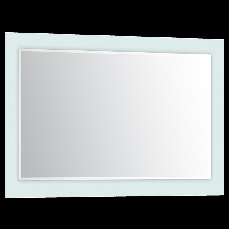 900 x 500mm Concerto Mirror White