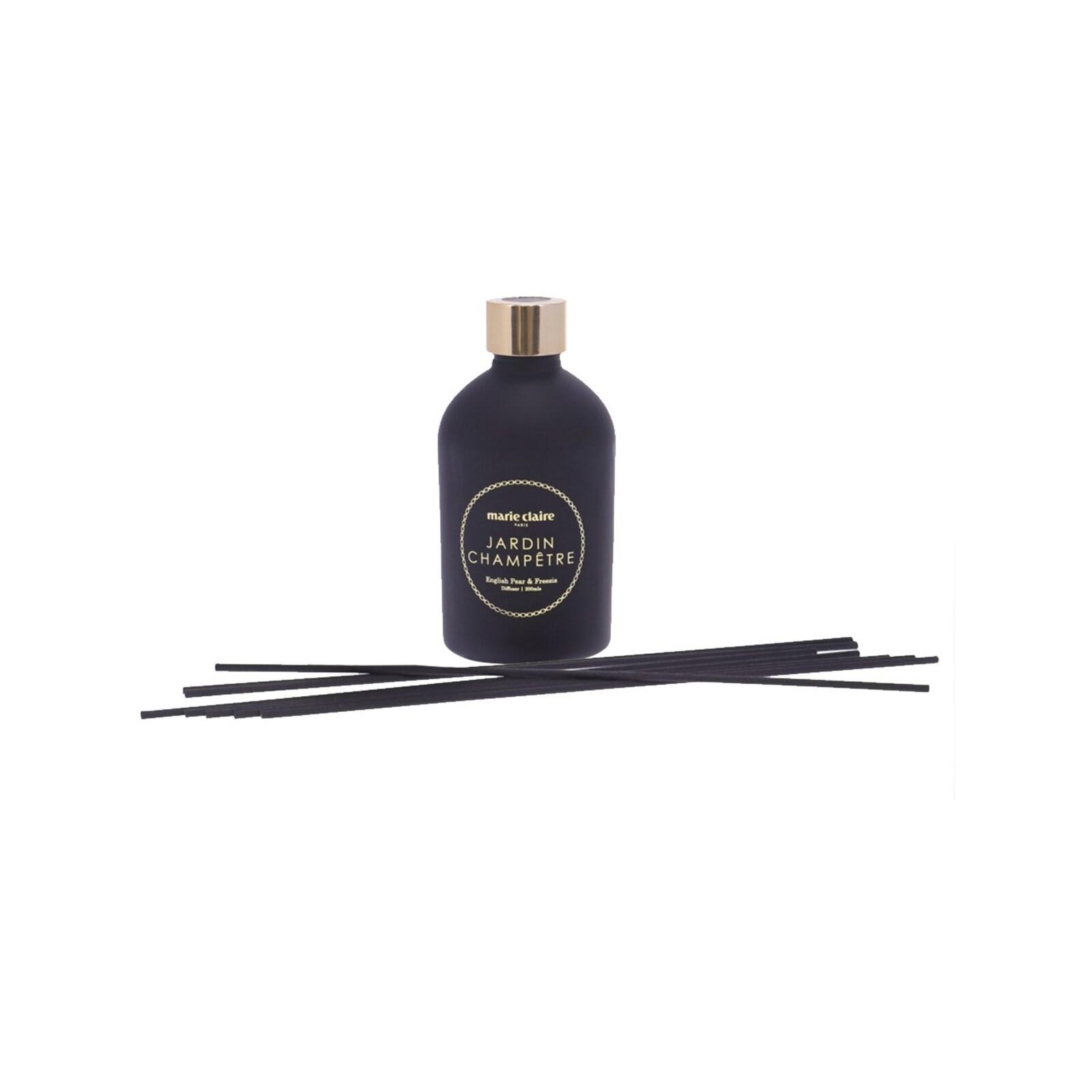 Marie Claire Jardin Champetre Fleur Reed Diffuser Black