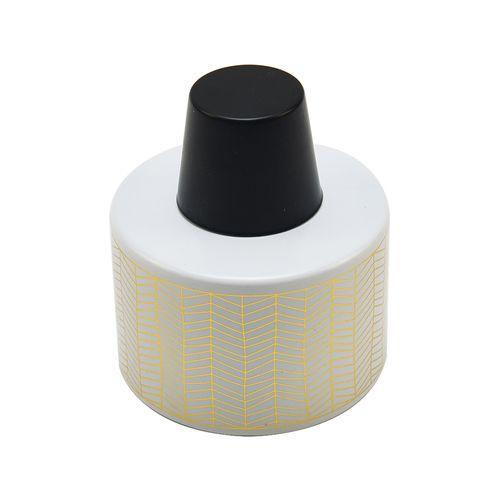 Waxworks Citronella Ceramic Oil Burner With Snuffer Cap