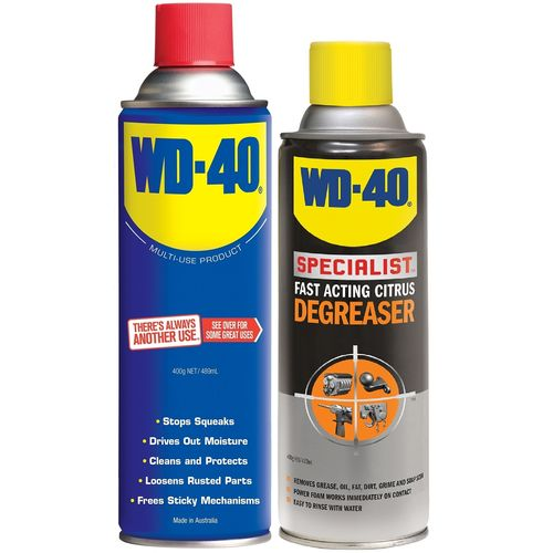 WD-40 Multi-Purpose And Degreaser Combo