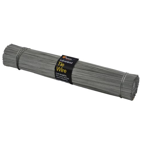 Whites On-Site 1.25 x 250mm 1kg Cut Galvanised Tie wire
