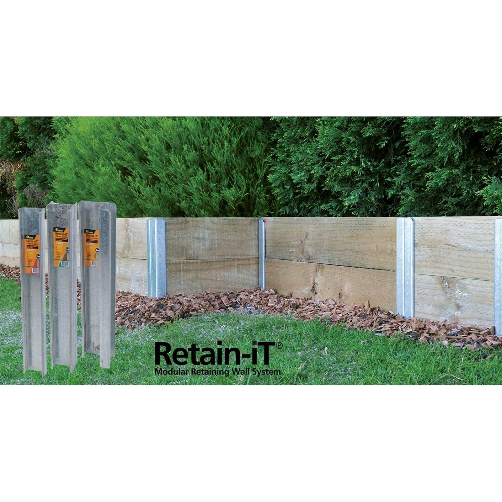 Whites Outdoor 1100 x 75mm Retain-iT Joiner Post