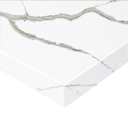 Essential Stone 20mm Round Premium Stone Benchtop - Calacutta Classique