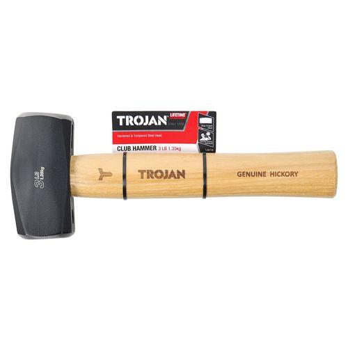 Trojan 1.3kg Timber Club Hammer