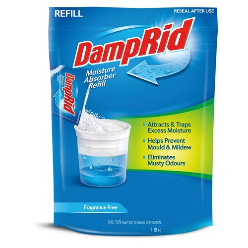 DampRid 1.19kg Moisture Absorber Refill