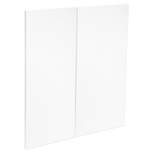 Kaboodle Sea Salt Modern Corner Base Cabinet Door - 2 Pack