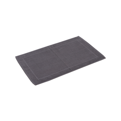 Softouch 800 x 500 Charcoal Cotton Bathmat