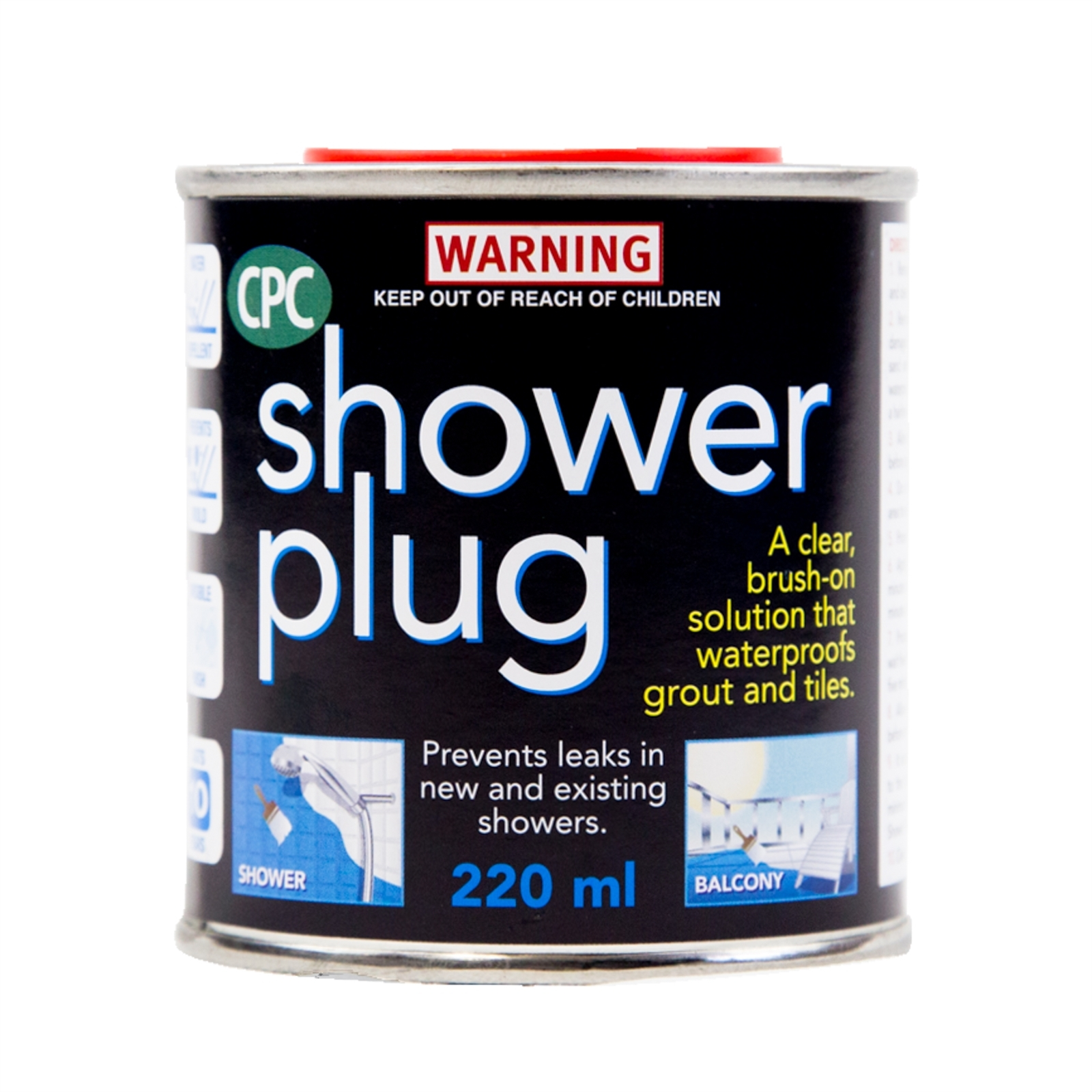 CPC 220ml Shower Plug Sealant